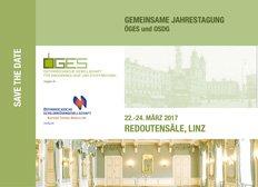 Gemeinsame Jahrestagung 2017 OeGES - OSDG